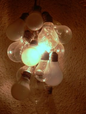 Bulb lights lamp