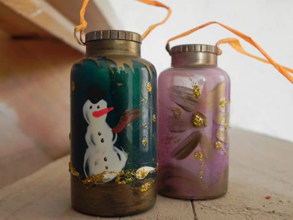 Christmas Ornament On Medication Bottle Do-It-Yourself Ideas Recycled Packaging