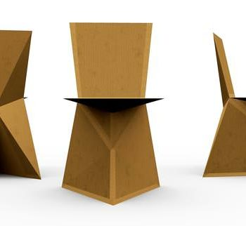 DIY : A cardboard chair