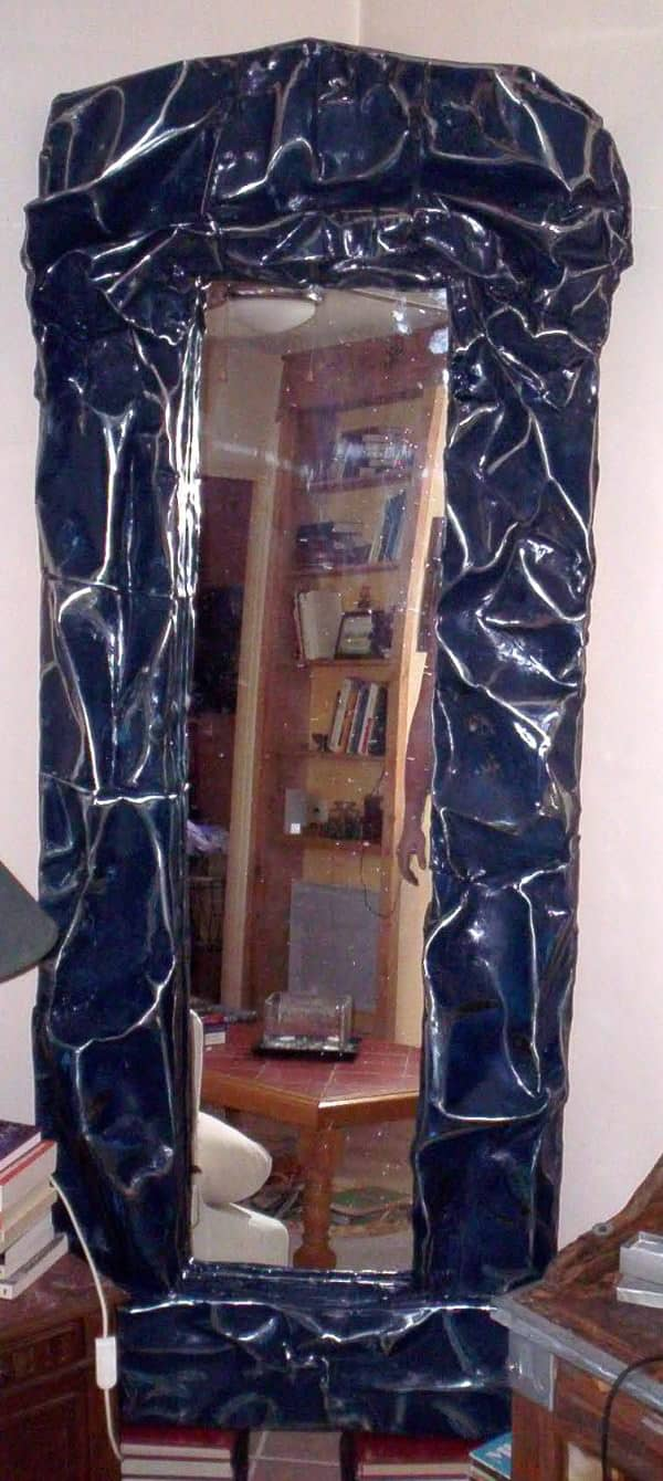 Peugeot 104 Mirror Do-It-Yourself Ideas Recycled Furniture Recycling Metal