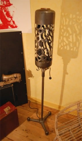 Flushing cistern lamp