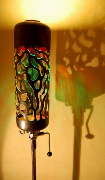 Upcycled Flushing Cistern Into Lamp Lamps & Lights Recycling Metal