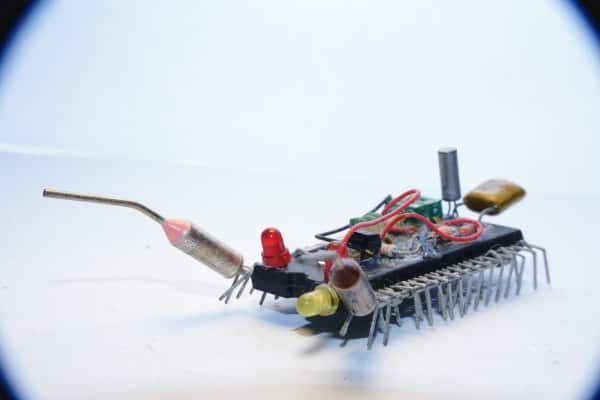Insected junk in electronics  with Insect Electronics