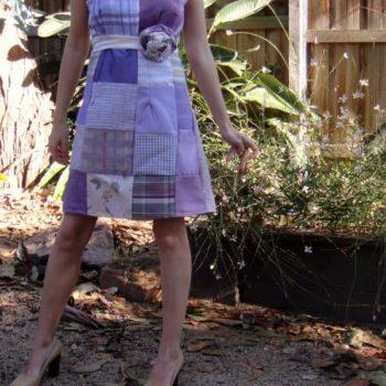 Upholstery Patch Dress
