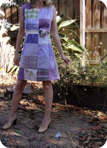 Upholstery Patch Dress