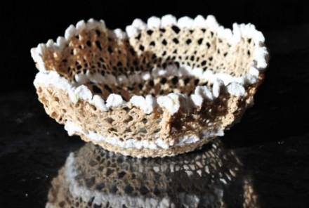 Crochet Doily Bowls