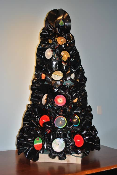 We Love Rock and Roll Do-It-Yourself Ideas Recycled Vinyl