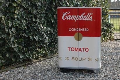 Campbells kitchen cupboard