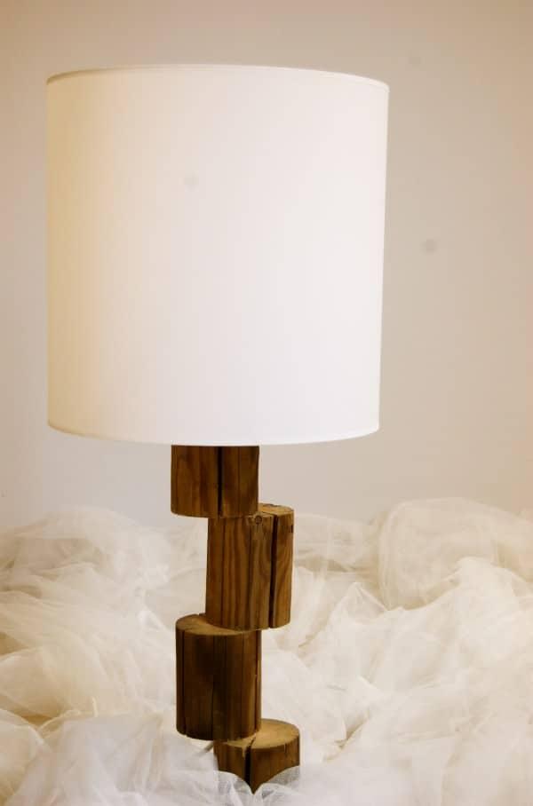 Lamp Logs Lamps & Lights Wood & Organic