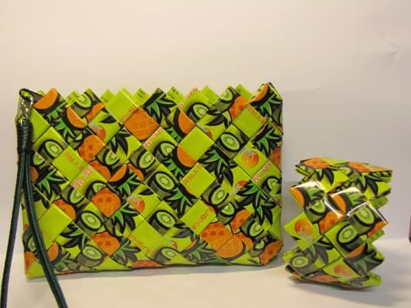 Origami Purse Accessories Recycled Plastic