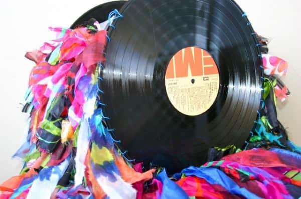 Vinyl Record Handbags Accessories Recycled Vinyl