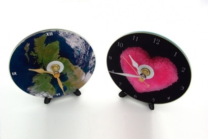 Recycled CD Clocks
