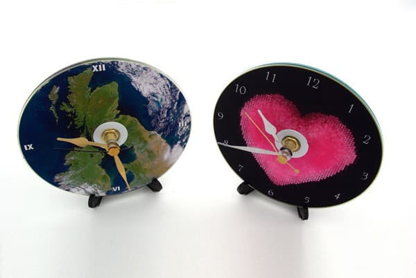 Recycled CD Clocks Accessories Recycled Electronic Waste