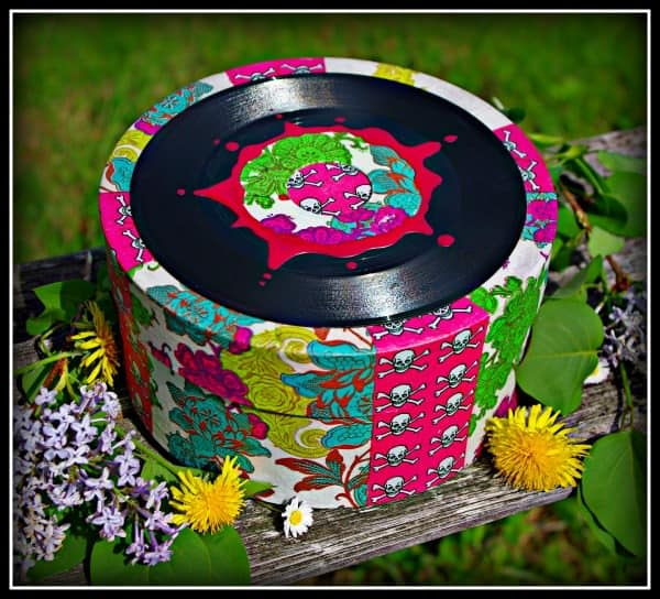 Vinyl Hatbox Accessories Recycled Vinyl