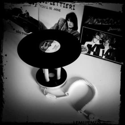 Vinyl Lamp