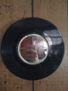 Vinyl Mirror