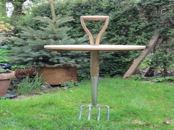 Garden Fork Table Recycled Furniture