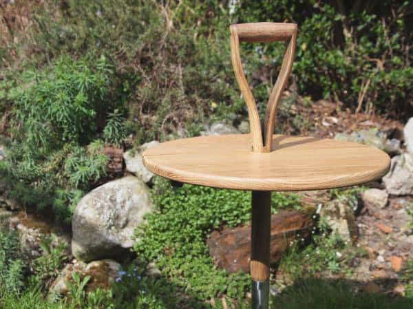 Garden Fork Table in furniture  with upcycled furniture Table Reused Repurposed Garden ideas