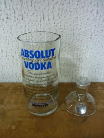 Absolut Flower Vase