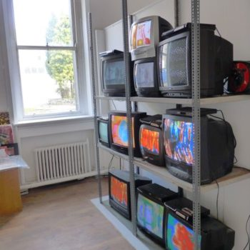 Old tv installation