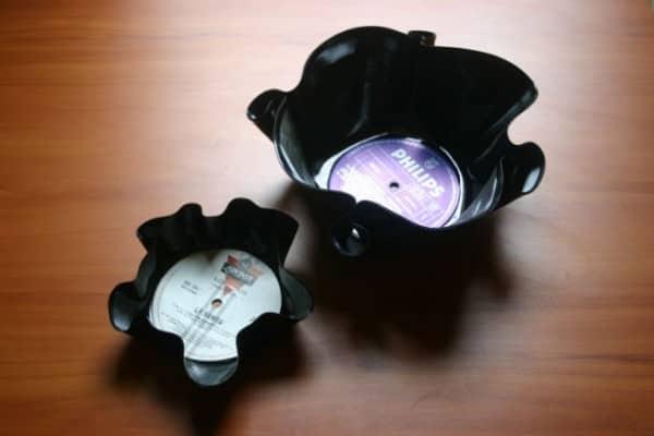 Vinyl Bowls Accessories Recycled Vinyl