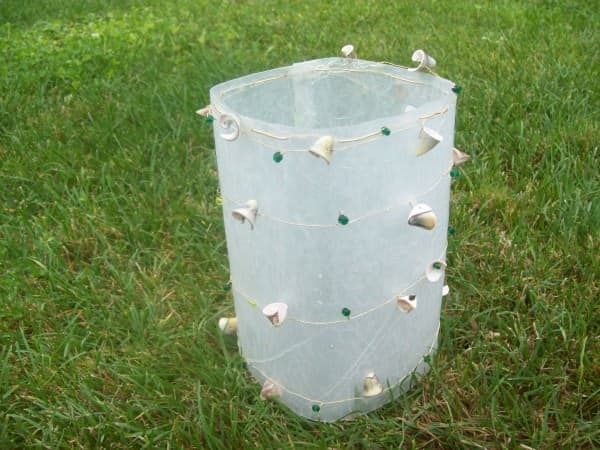Fused plastic Luminaries Do-It-Yourself Ideas