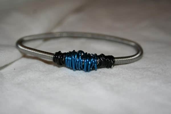 Guitar String Bracelet in jewelry electronics diy  with Recycled Jewelry Bracelet