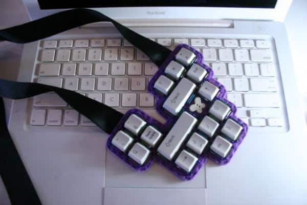 Keyboard Beaded Necklaces in art jewelry electronics accessories  with Necklace keyboard Jewelry