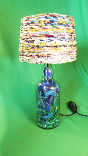Plastic beach lamps