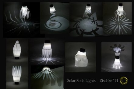 Solar Soda Lights
