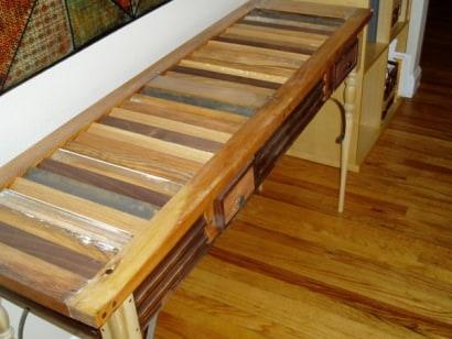 Ray De Comerio console table