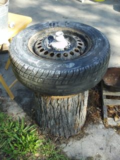 Potter's wheel made easy Do-It-Yourself Ideas Recycled Rubber