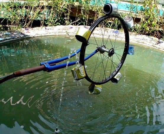 Water wheel in bike friends  with Wheel WC
