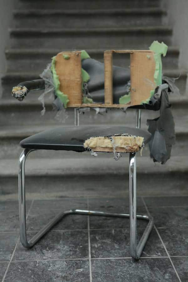 Chair Made From Recycled Bike Inner Tubes Recycled Furniture Upcycled Bicycle Parts