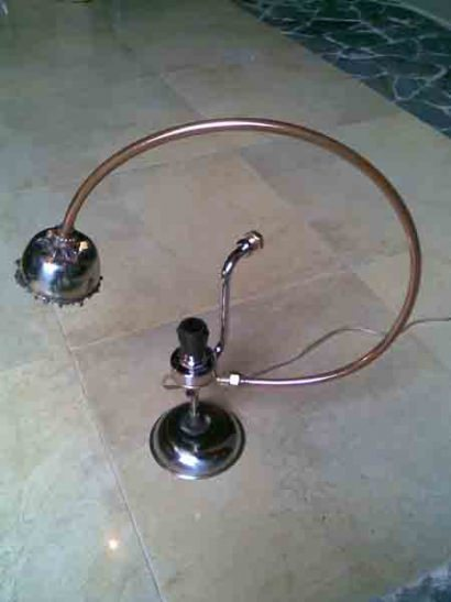 Bend Pipe lamp