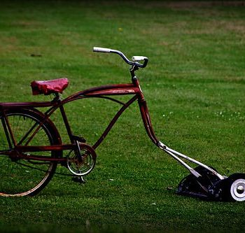 The Bike Mower !