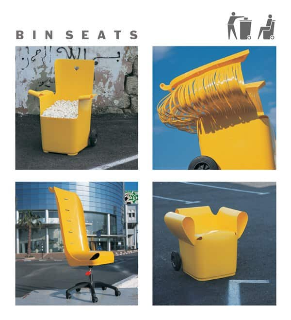 Bin Seats Recycled Furniture Recycled Plastic