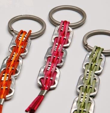 Can key ring Accessories Recycled Packaging