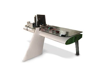 Aeroplane Wing Desktop Mechanic & Friends Recycled Furniture Recycling Metal