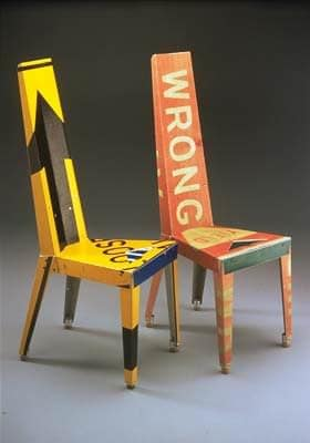 Re-used Traffic Signs Furniture Recycled Furniture Recycling Metal