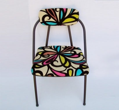 Vintage Folding Chair Refreshed