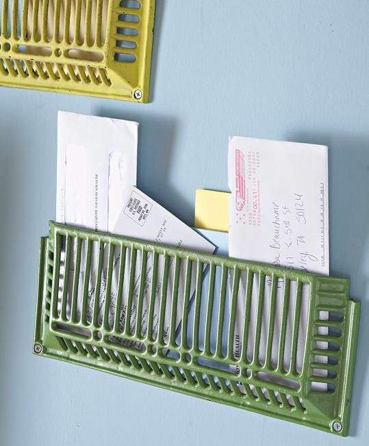 Mail Storage Grates Do-It-Yourself Ideas Recycling Metal