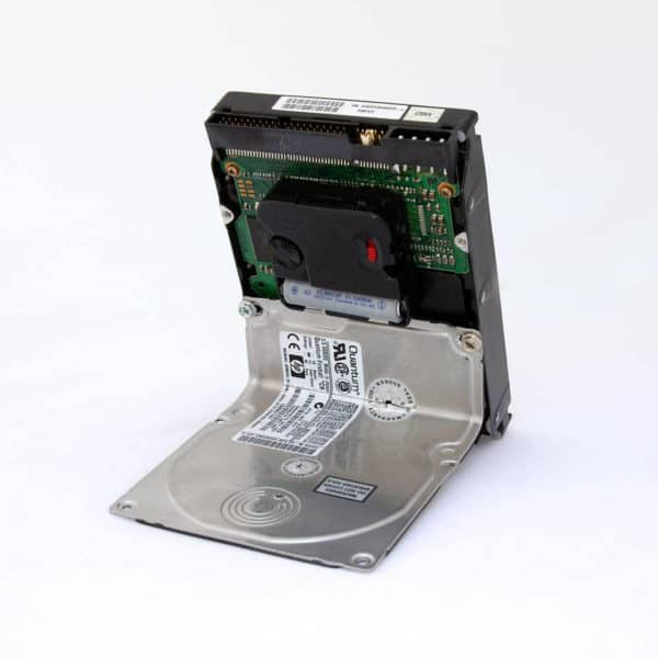 Hard Drive Clock Recycled Electronic Waste