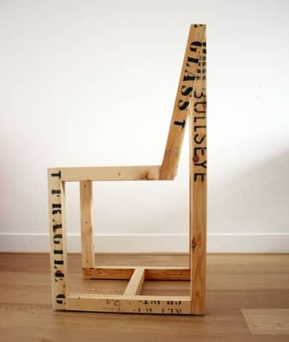 Wooden export crates furnitures