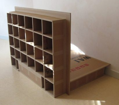 A Carboard bed (futon spirit)