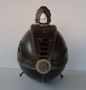 Submarine-men made with vintage table fans