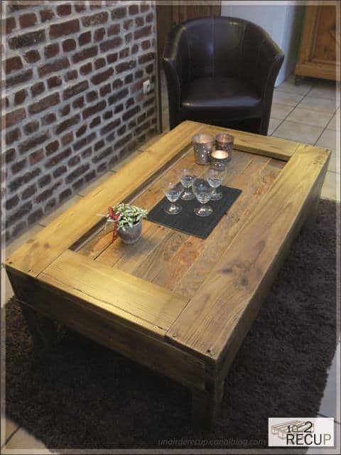 palette 5A 02 2 30 Luxe Table Basse Design originale Hiw6