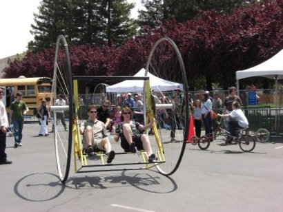 Peddling wheels