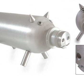 Aluminium piggy bank