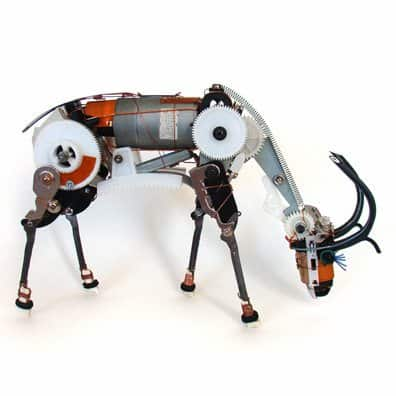 pronghorn Electronics robots in electronics art  with Robot machine Electronic 